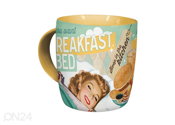 Muki IF YOU WANT BREAKFAST IN BED.. SG-87091