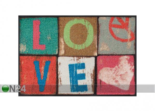 Matto LOVE LETTERS 50x75 cm A5-87253