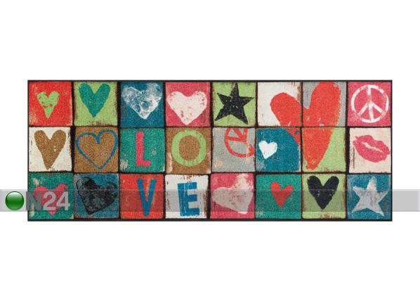 Matto LOVE LETTERS 75x190 cm A5-87255