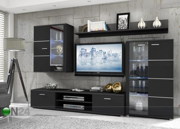 Hyllystö BLACK RM-87497