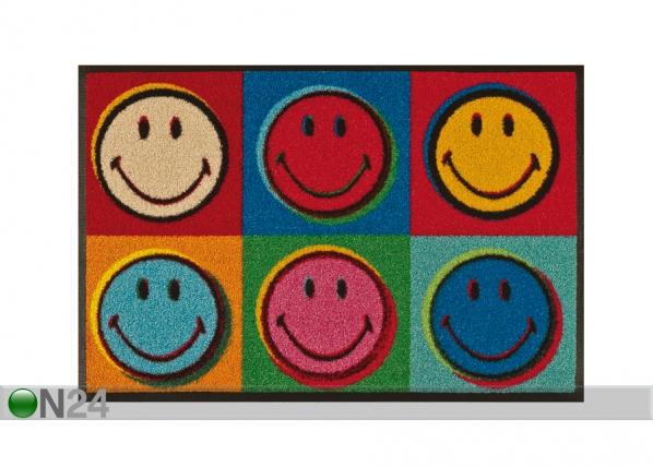 Matto SMILEY WARHOL 50x75 cm A5-87665