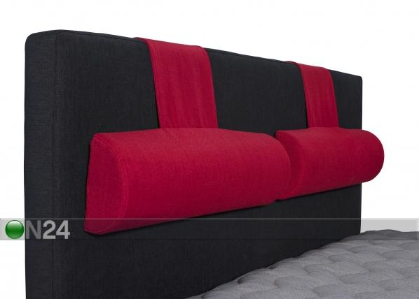 Sängynpäädyn niskatyynyt HYPNOS 60x18x10 cm, 2 kpl FR-87820