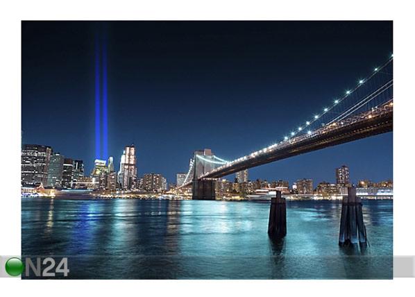 Kuvatapetti WTC MEMORIAL LIGHTS 400x280cm ED-88119