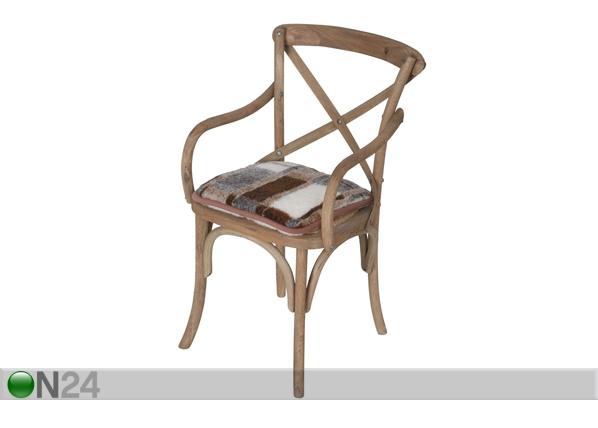 Istuinpehmuste lampaanvillasta 40x40 cm WL-88318