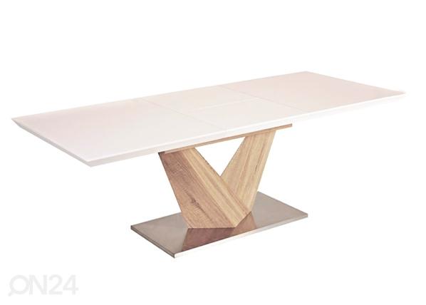 Jatkettava ruokapöytä ALARAS 90x160-220 cm WS-88375