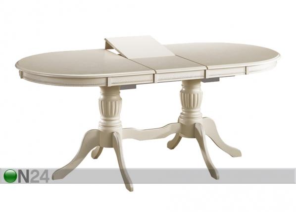 Jatkettava ruokapöytä ANJELICA 90x150-185 cm WS-88378