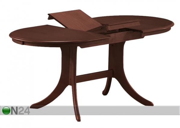 Jatkettava ruokapöytä AVANA 74x120-150 cm WS-88446