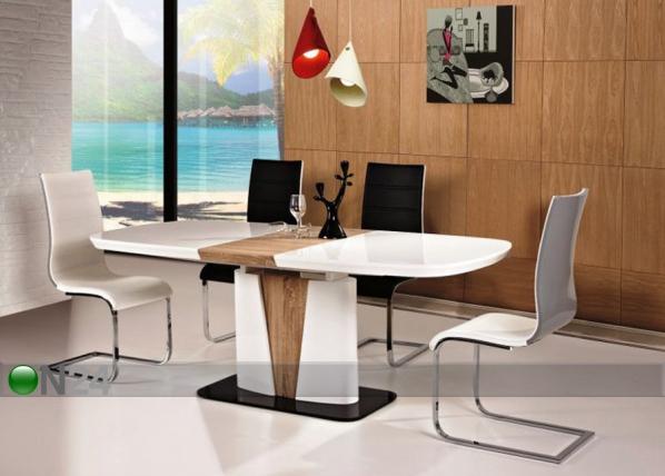 Jatkettava ruokapöytä CANGAS 90x160-200 cm WS-88448