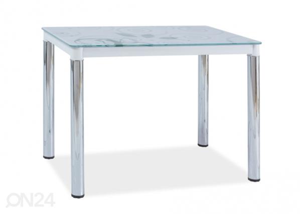 Ruokapöytä DAMAR II 100x60 cm WS-88453