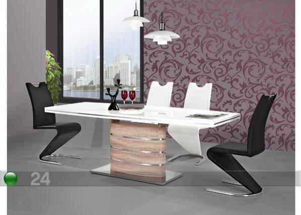 Jatkettava ruokapöytä FANO 90x160-220 cm WS-88704