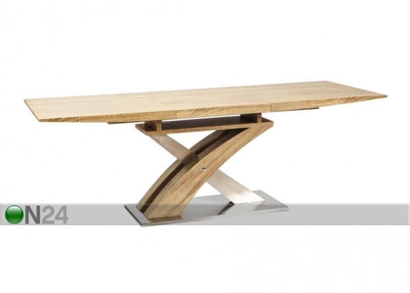 Jatkettava ruokapöytä RAUL 90x160-220 cm WS-88797