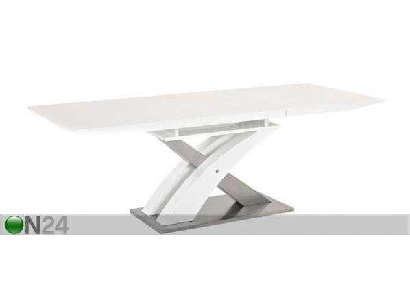 Jatkettava ruokapöytä RAUL 85x140-180 cm WS-88798
