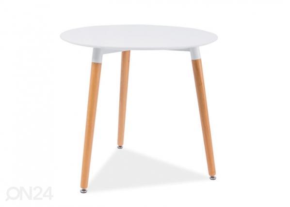 Ruokapöytä NOLAN III Ø 80 cm WS-88936