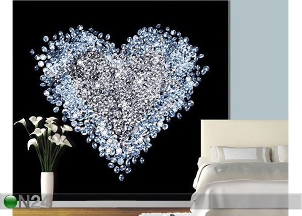 Kuvatapetti HEART OF DIAMOND 300x280 cm ED-89212