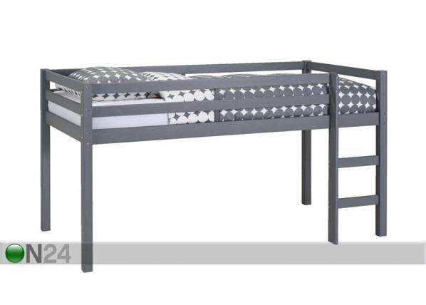 Parvisänky, mänty 90x200 cm FX-89749