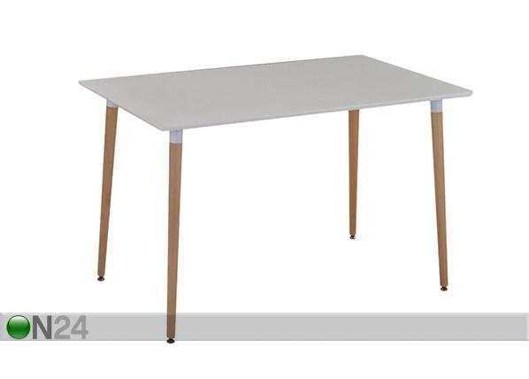 Ruokapöytä LUND 120x75 cm BL-90046