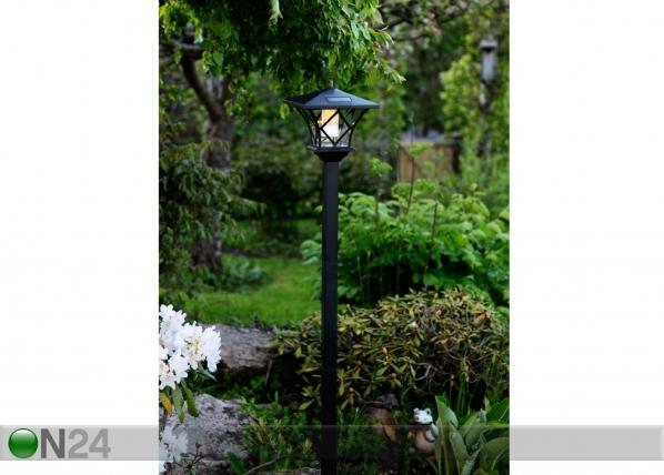 Pidennettävä puutarhavalaisin aurinkopaneelilla AA-90557