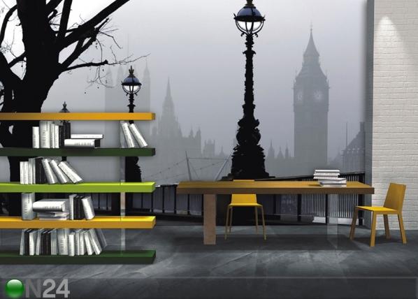 Fleece kuvatapetti MAGICAL LONDON 360x270 cm ED-90565
