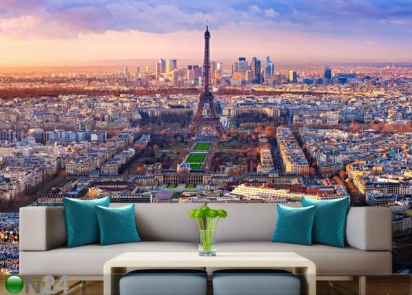 Fleece kuvatapetti PARIS 360x270 cm ED-90584