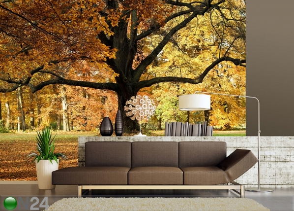 Fleece kuvatapetti OAK TREE 360x170 cm ED-90604