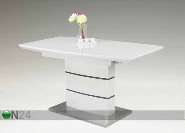 Jatkettava ruokapöytä CLARISSA 80x140/180 cm SM-90716