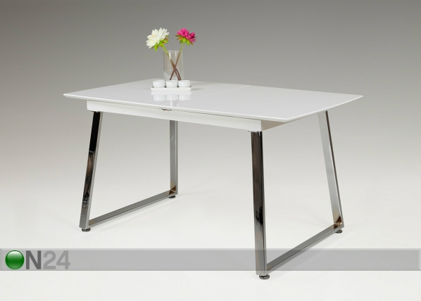 Jatkettava ruokapöytä WILMA 80x140/175 cm SM-90792