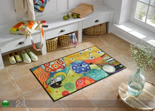 Matto COLOUR FANTASY WITH PARROT 50x75 cm A5-90863