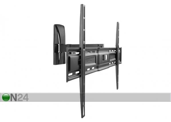 TV-seinäteline SlimStyle 600 SR musta HG-91057