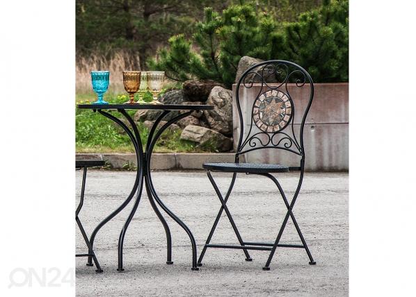 Kokoontaitettava puutarhatuoli MOSAIC EV-91428
