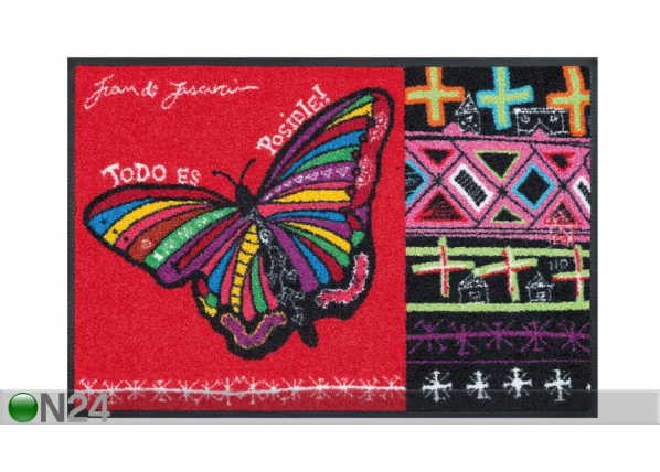 Matto BUTTERFLY DREAMS 50x75 cm A5-91481
