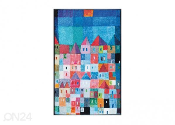 Matto COLOURFUL HOUSES A5-91487