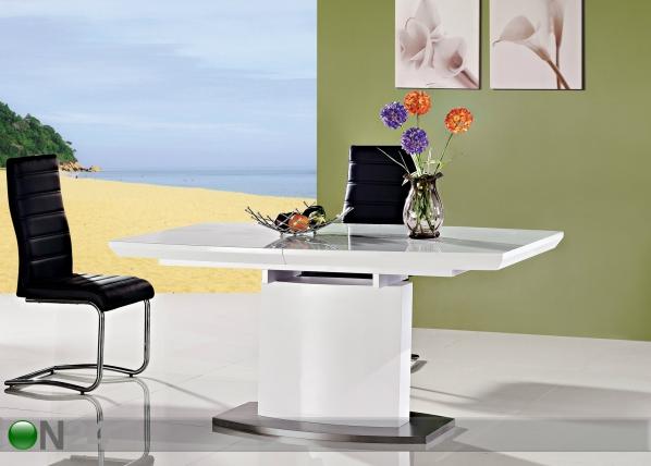 Jatkettava ruokapöytä CANBERRA 160-220x90 cm AY-91600