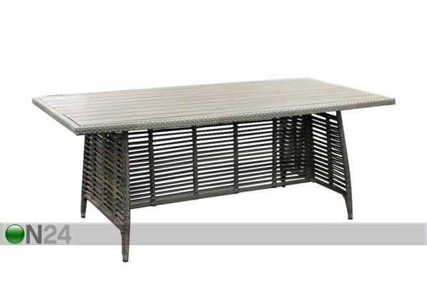Puutarhapöytä ZENICA 200x110 cm EV-91666