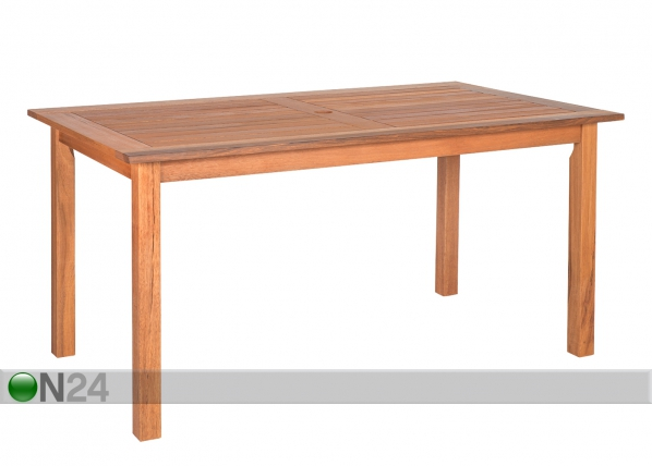 Puutarhapöytä WOODY 140x80 cm EV-91914