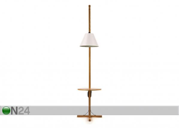 Lattiavalaisin FLOOR LAMP TABLE+WHITE SHADE WO-91918