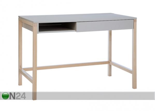 Työpöytä NORTHGATE DESK MEL Gray/Birch WO-91935