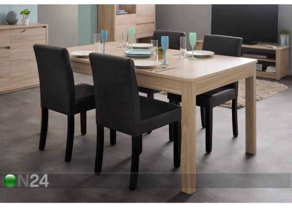 Ruokapöytä WENDY 160x90 cm MA-92006