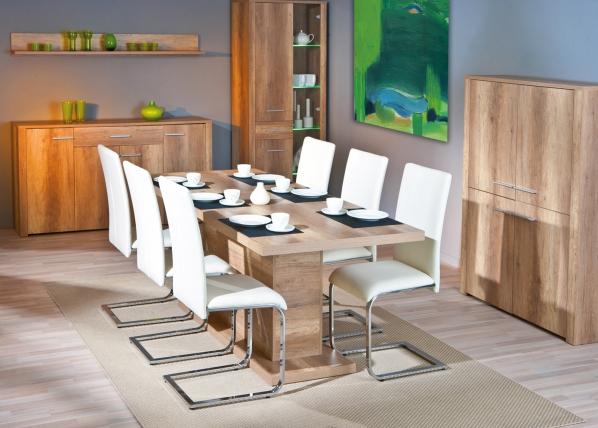Jatkettava ruokapöytä ABSOLUTO 160-200x90 cm AY-92158