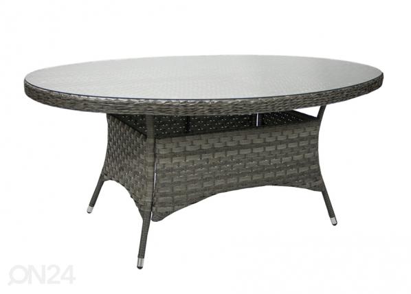 Puutarhapöytä GENEVA 180x120 cm EV-92246