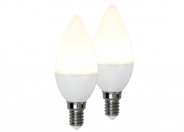 LED sähkölamppu E14 3W, 2 kpl AA-92560