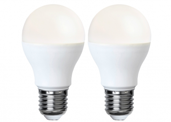 LED sähkölamppu E27 5W, 2 kpl AA-92582