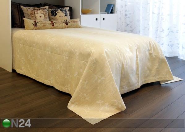 Dekoratiivikankainen päiväpeitto COMO LINO 240x240 cm TG-92586
