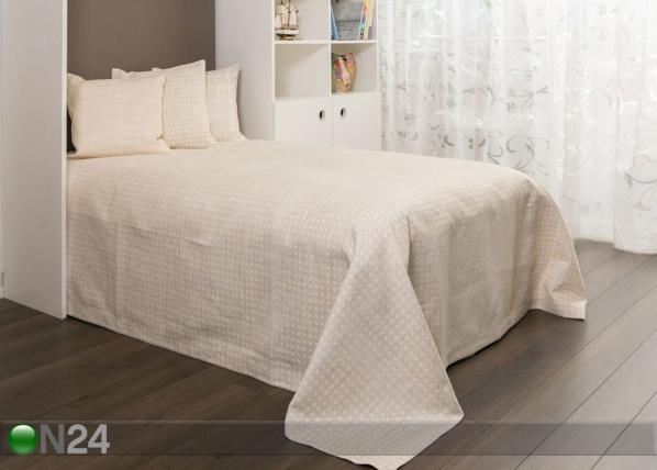 Dekoratiivikankainen päiväpeitto MANTOVO LINO 240x240 cm TG-92595