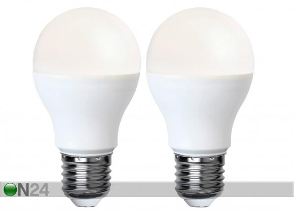 LED sähkölamppu E27 9W, 2 kpl AA-92597