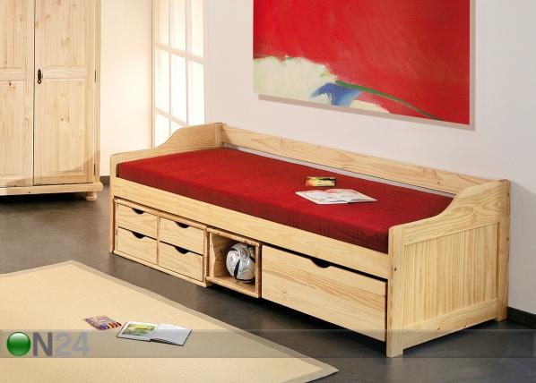 Sänkysarja MAXIMA, mänty 90x200 cm AY-93013