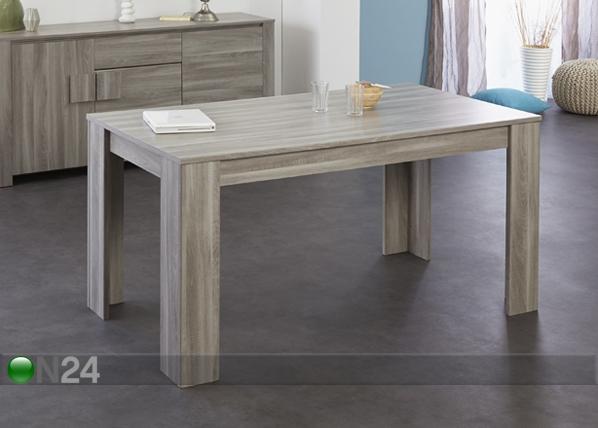 Ruokapöytä WARREN 160x88 cm MA-93541