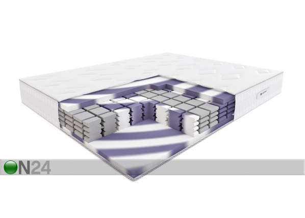 Vaahtomuovipatja TWIST DIAMOND 180x200 cm SW-95019