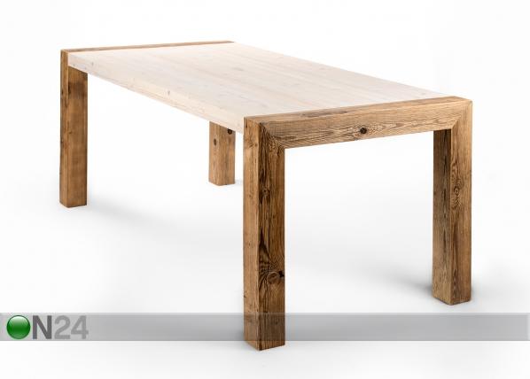 Ruokapöytä COTTAGE 220x90 cm PU-95287