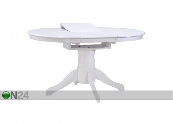 Jatkettava ruokapöytä ALBANY 106-150x106 cm AQ-95390