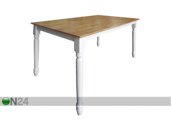Ruokapöytä CANBERRA 120x75 cm AQ-95391